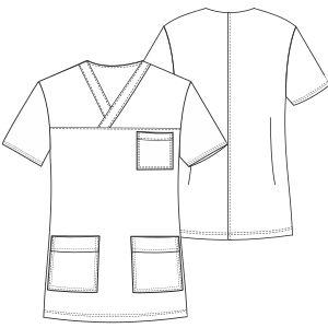 Modelos de ropa profesional. Hazlo tu mism@ Ambo enfermera 3033 UNIFORMES Camisas