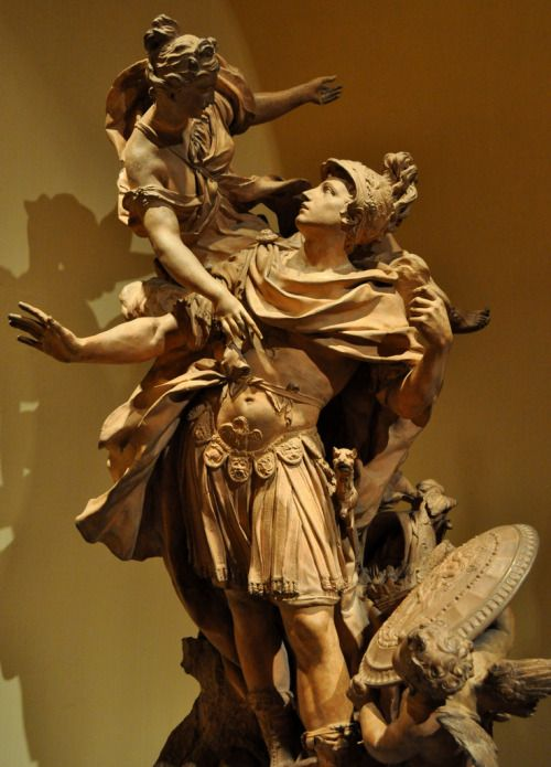classical-beauty-of-the-past:  Venus Giving Arms to Aeneas - The...