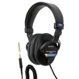 Sony MDR7506 Professional Large Diaphragm Headphone (Electronics)By Sony