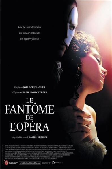 Le Fantôme de l'Opéra (2004) Regarder Le Fantôme de l'Opéra (2004) en ligne VF et VOSTFR. Synopsis: Au XIXe siècle, dans les fastes du Palais Garnier, l'Opéra de Paris, Chris...