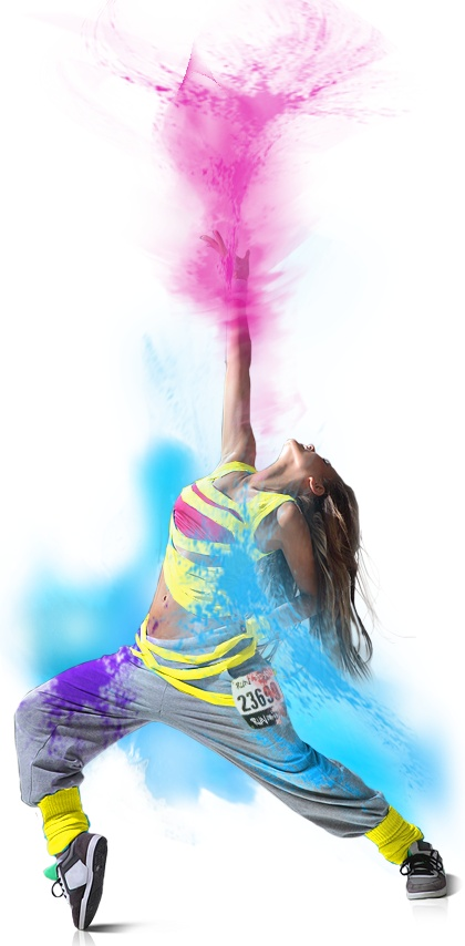 Run or Dye™ - The Most Colorful 5K Run™.  Just pre-registered for this one!