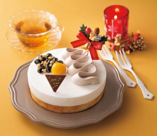 """""""和""""のクリスマスケーキ「豆乳チーズケーキ」、有名日本料理店監修"""