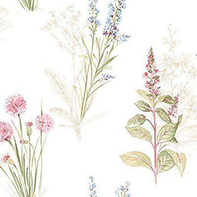 AB42445-Abby Rose 3 floral azul y rosado del papel pintado Galerie: Amazon.es: Bricolaje y herramientas