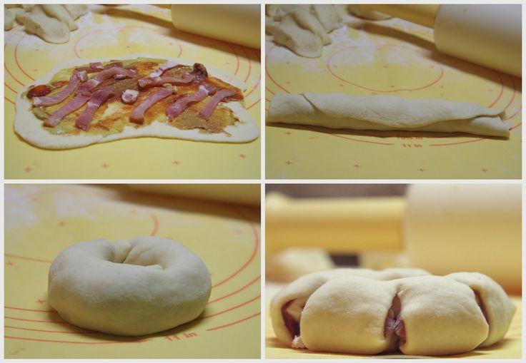 Egy barátnőmnél láttam ezt a szépséget, persze rögtön el is kértem a receptet. Ez egy kelt tésztás, hússal töltött finomság. Nos, én megsütöttem és...