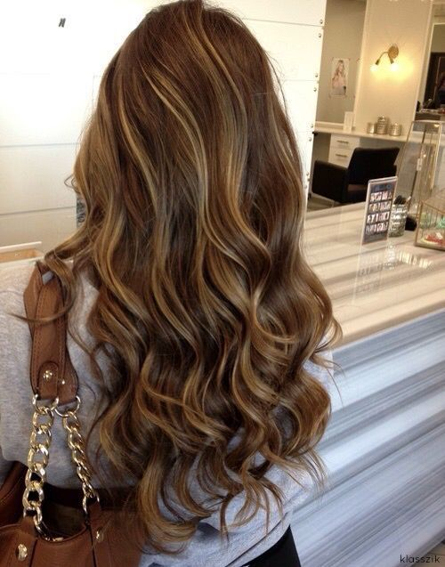 Ash brown hair with blonde highlights                                                                                                                                                     More