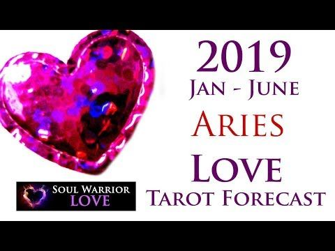 ARIES 2019 LOVE Tarot Forecast Jan June Soul Warrior Tarot