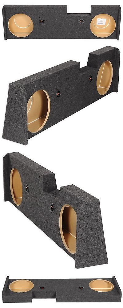 Speaker Sub Enclosures: Rockville Dual 12 Sub Enclosure Box 2014-Up Gmc/Chevy Sierra/Silverado Crew Cab -> BUY IT NOW ONLY: $68.99 on eBay!