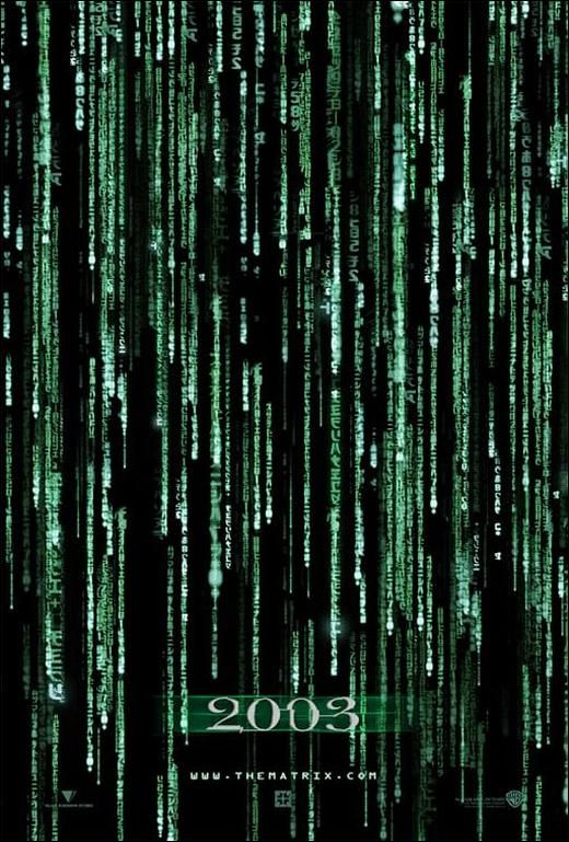 The Matrix Reloaded Movie Poster (2003)