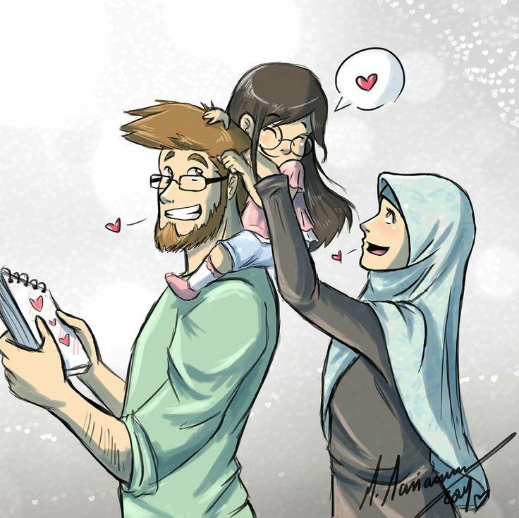 81 Best Muslim Couple Anime Cartoon Images On