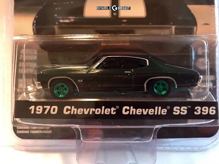 1 64 Greenlight John Wick Chapter 2 1970 Chevrolet Chevelle Green