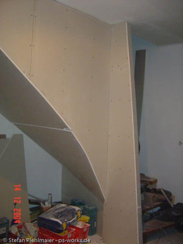 Verkleidung Einer Offenen Treppe Zukunftige Projekte Treppe