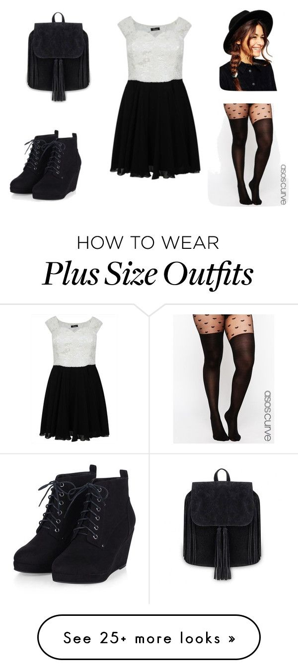 """""""Untitled #364"""" by zeniboo on Polyvore featuring ASOS Curve, ASOS, women's clothing, women's fashion, women, female, woman, misses and juniors"""
