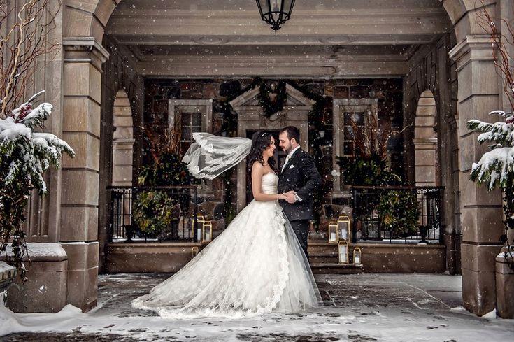 Hajar and Ryan's Winter Wedding at Graydon Hall Manor