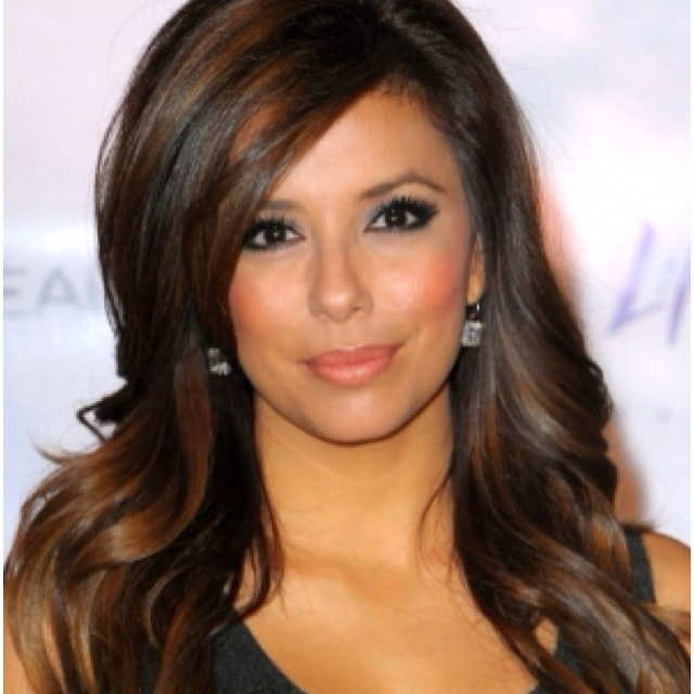 Chocolate Brown Hair With Honey Highlights Hairs Picture Gallery