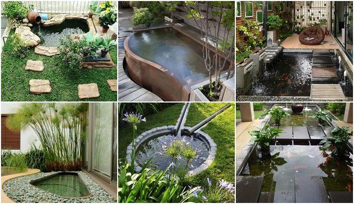 46 Beautiful Fish Pond Ideas 3 Garden Pond Design Ponds Backyard Pond Design