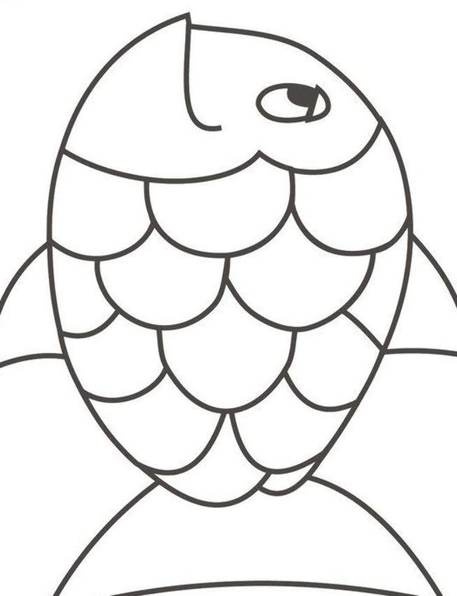 Free Rainbow Fish Coloring Pages Fish Coloring Page Animal Coloring Pages Rainbow Fish Coloring Page