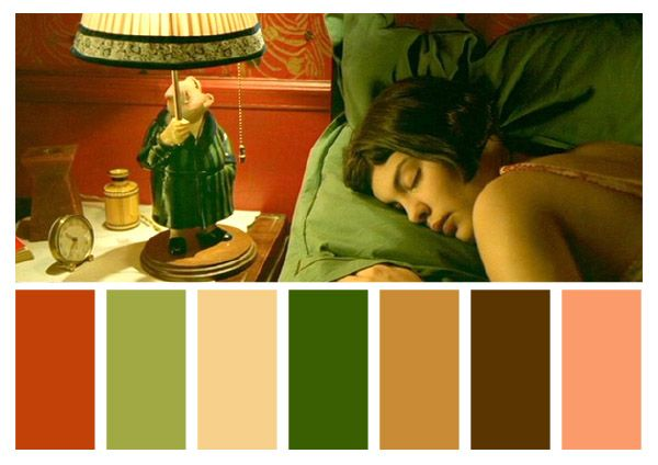 12 Colour Palettes Taken From Visually Stunning Films