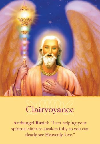 Oracle Card Clairvoyance | Doreen Virtue | official Angel Therapy Web site