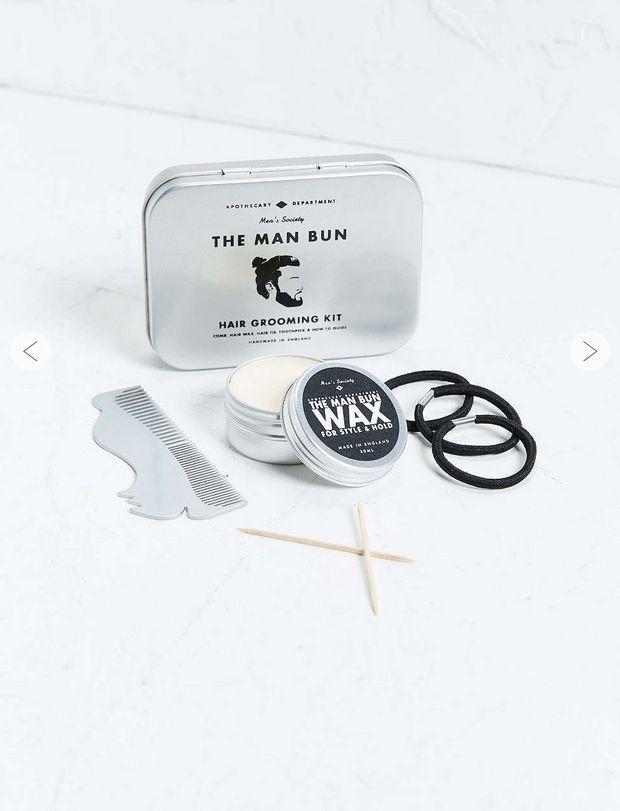 Hair Grooming Kit Men - Hair Wax, Hair Oil and Comb