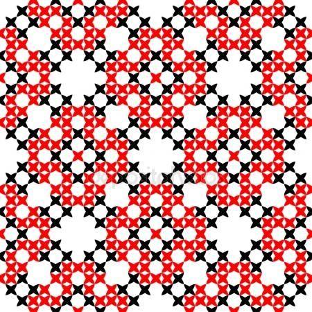 Descargar - Textura transparente con los ornamentos bordados de negros y rojos — Ilustración de stock #109266694