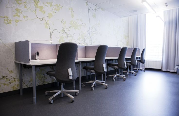 HÅG SoFi works for a more comfortable hours of study #InspireGreatWork #desgin #Scandinavian #education