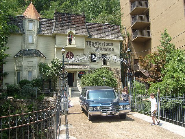 Haunted Mansion In Gatlinburg Tn When We Went When I