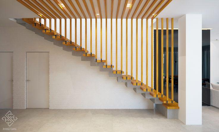 Лестница в частном доме может быть разной. Почему бы, например, не такая? Как Вам?)) Руководитель #irina_shevtsova Архитектор: #dmitriy_rasoshenko