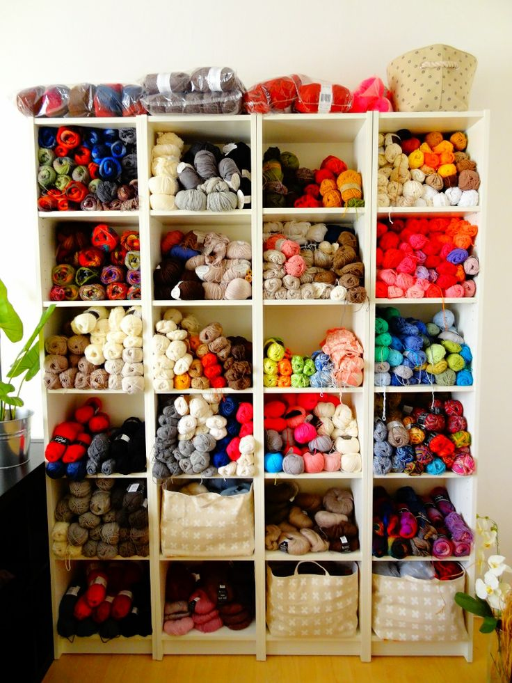 Yarn stash - just in case people wonder what i do in my free time.