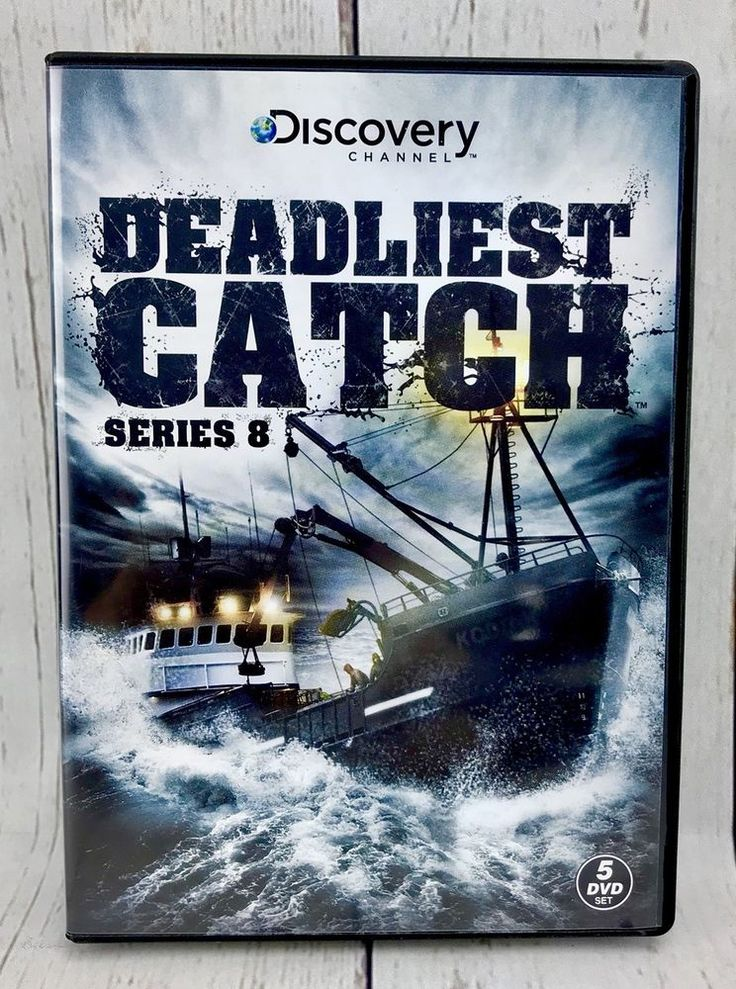 Dvd Box Set Deadliest Catch Series 8 Complete 5 DVD's Watched Once Fishing boat