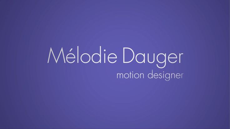 My Showreel from 2014.  Feel free to follow me here : http://vimeo.com/melodiedauger   Or here : https://www.youtube.com/user/masterdesigner/  or even here : https://www.linkedin.com/in/melodiedauger  ©Mélodie Dauger. All rights reserved
