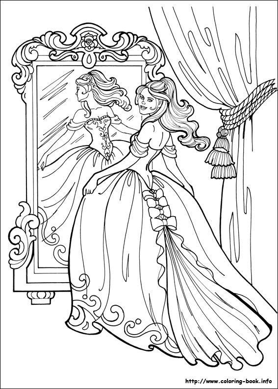 Free Printable Coloring Image Princessleonora Page 006