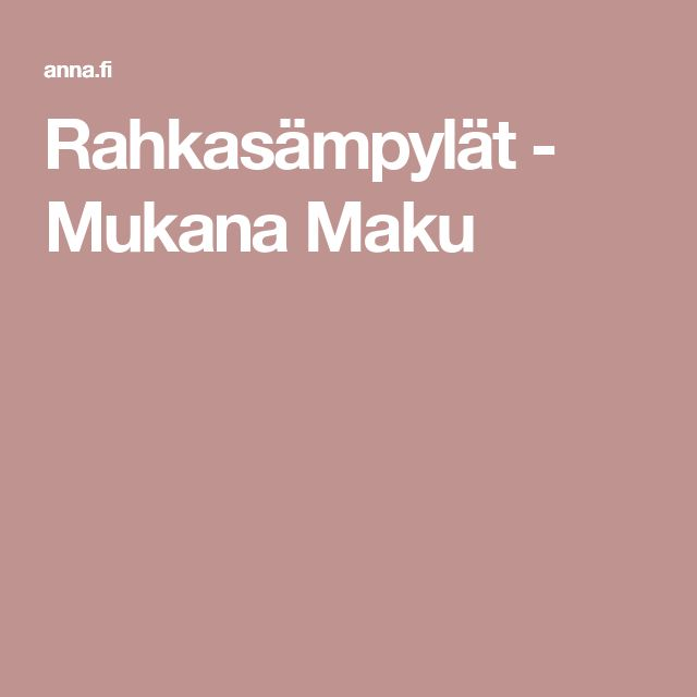 Rahkasämpylät - Mukana Maku