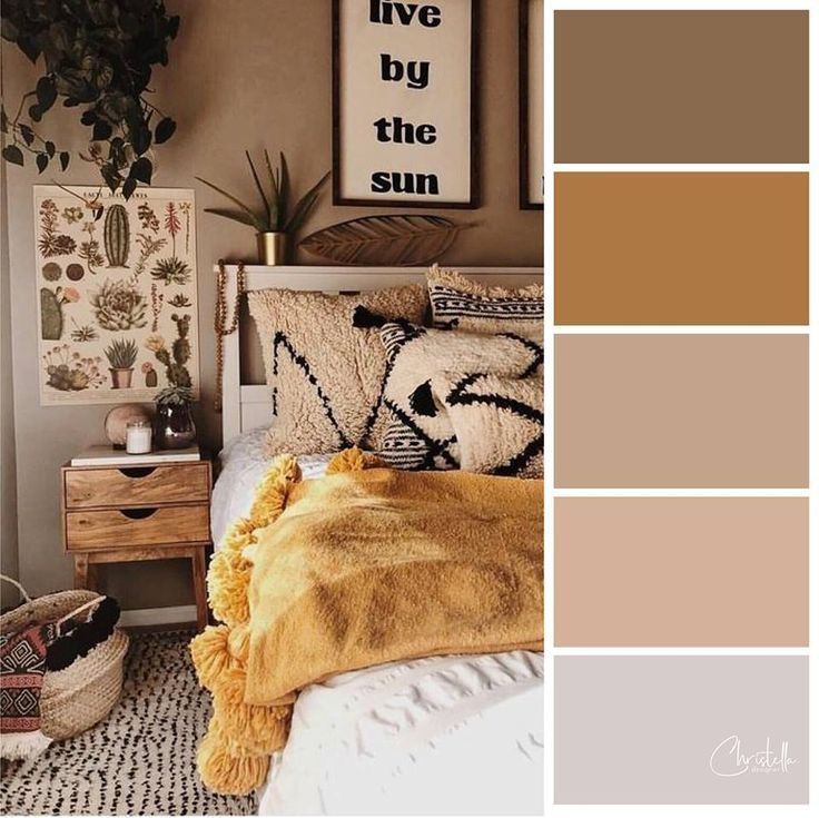 Earth Tone Colors For Bedroom Bedroom Color Schemes Brown Color Schemes Bedroom Decor Bedroom Bro Bedroom Color Schemes Bedroom Colors Warm Bedroom Colors