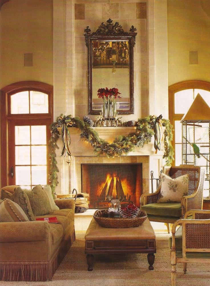 Gorgeous Christmas Decor Mantel Hogar Pinterest Hogar Interiors Inside Ideas Interiors design about Everything [magnanprojects.com]
