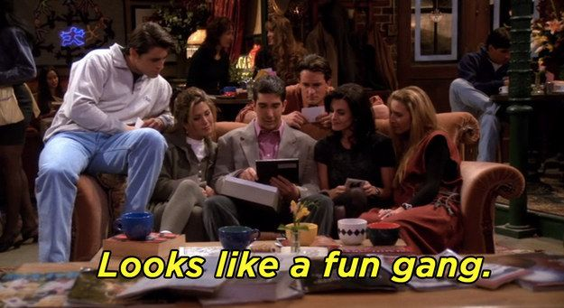 "49 ""Friends"" Lines For When You Need An Instagram Caption"