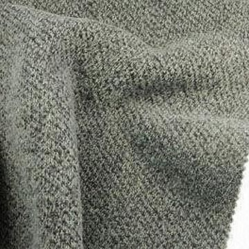 Heavy Pique Melange Fleece Fabric, Made of 100% Poly