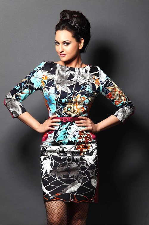 Love the hair. #Sonakshi #Bollywood