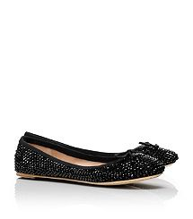 Tory Burch Crystal Chelsea Ballet Flat
