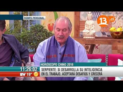 PEDRO ENGEL HOROSCOPO CHINO 2016 - YouTube