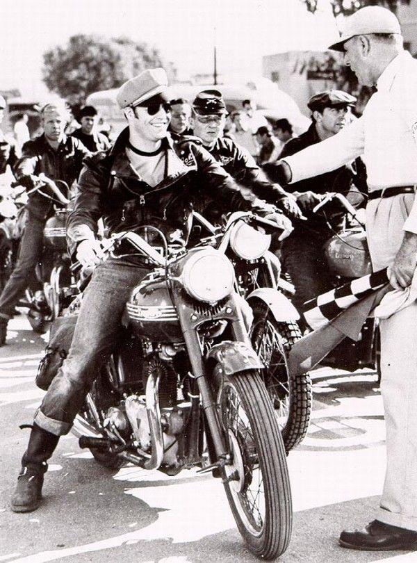 Triumph motorcycles, Marlon Brando