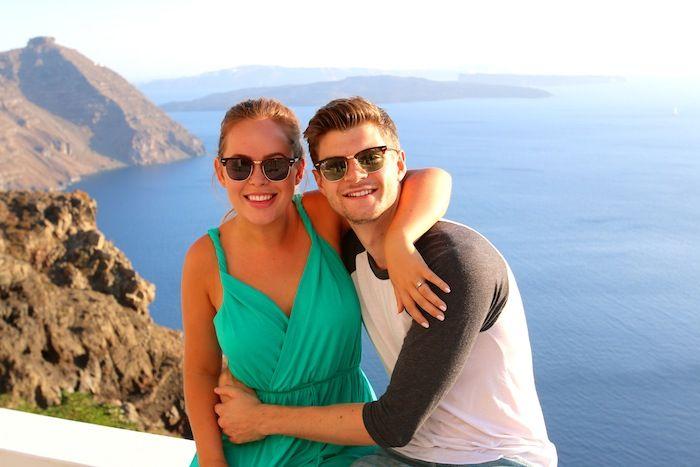 Sun, Sea & Friends In Santorini - Tanya Burr