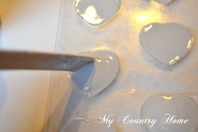 MY COUNTRY HOME: tutorial gessetti profumati a forma di cuore / shabby perfumed little hearts