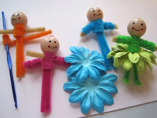 Creative Breathing: May 2012 Pipe  cleaner fairies