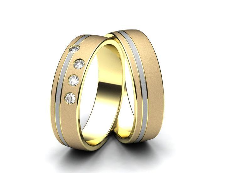 Snubní prsteny E1332  #aiola #wedding #rings