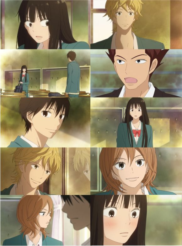 kimi ni todoke serie anime romantica