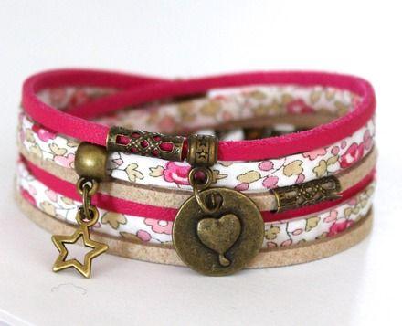 Célèbre Plus de 25 idées uniques dans la catégorie Bracelet tissu sur  NG88