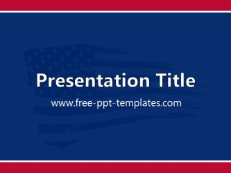 25 best powerpoint images on pinterest ppt template american united states powerpoint template is a blue template with red and white lines and flag in toneelgroepblik Image collections