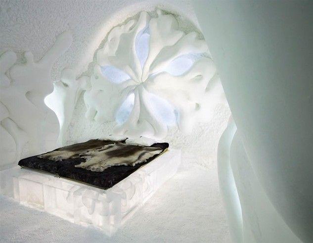 13. Lodowy hotel - Szwecja - (icehotel.com)