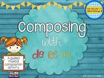 Awesome product for leading students naturally through the process of composing. They start with vocal explorations, do a bit of sight-reading, then finish by composing using pitches do, re, and mi.