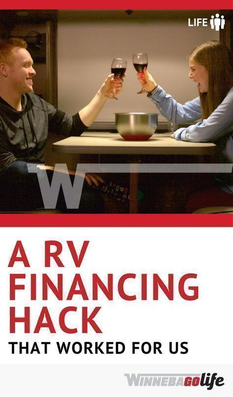 An RV Financing Hack That Worked for Us- Imagine finding the perfect #motorhome or #traveltrailer and then being told that your #credit was not good enough to finance it? Unless you have 100 grand laying around, this type of scenario could be devastating! #RVLiving is possible, even in this situation. Find out the #RVFinancing #hack that saved the day and allowed us to purchase the #RV of our dreams, even after being told no. #RVHacks #RVlife #Winnebago #WinnebagoLife #rvhacksmotorhome